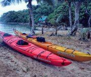 Kayaks ready