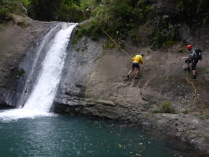 Canyoning Sagada waterfalls