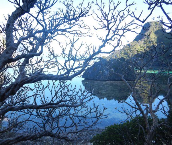 Remote Coron Lagoon