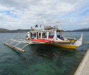 Disembarking at Culion